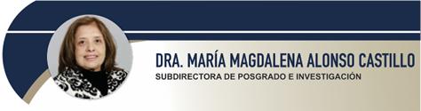Alonso Castillo María Magdalena, Dra.