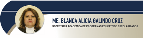Galindo Cruz Blanca Alicia, ME.
