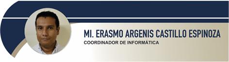 Castillo Espinoza Erasmo Argenis, MI.