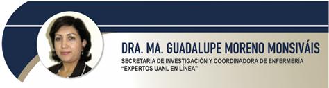 Moreno Monsivais María Guadalupe, Dra.