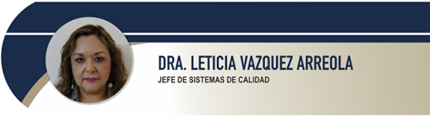 Vazquez Arreola Leticia, Dra.