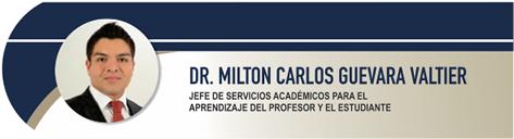 Guevara Valtier Milton Carlos, Dr.