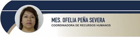 Peña Severa María Ofelia, MES.