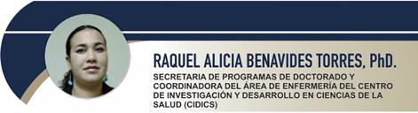 Benavides Torres Raquel Alicia, PhD.