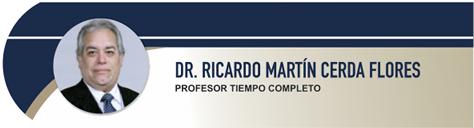 Cerda Flores Ricardo Martín, PhD.