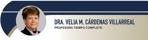 Cárdenas Villarreal Velia Margarita, Dra.
