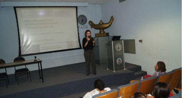 Evento del Cuerpo Académico de Administración y Gerencia del Cuidado