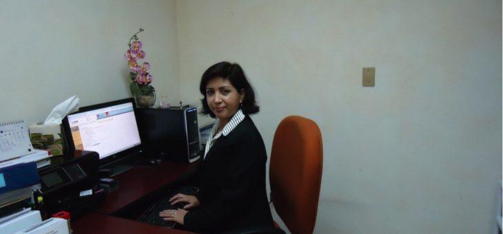 Reconocen como SNI 1 a Dra. María Guadalupe Moreno