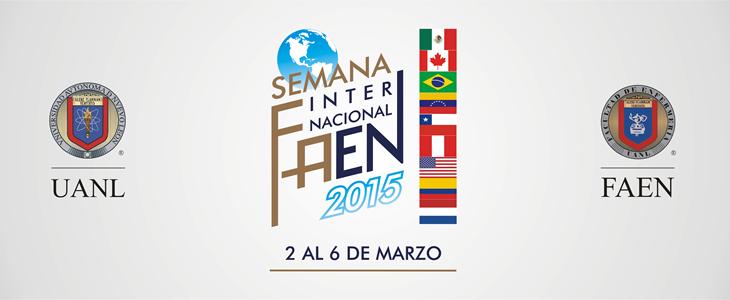 SEMANA INTERNACIONAL FAEN 2015