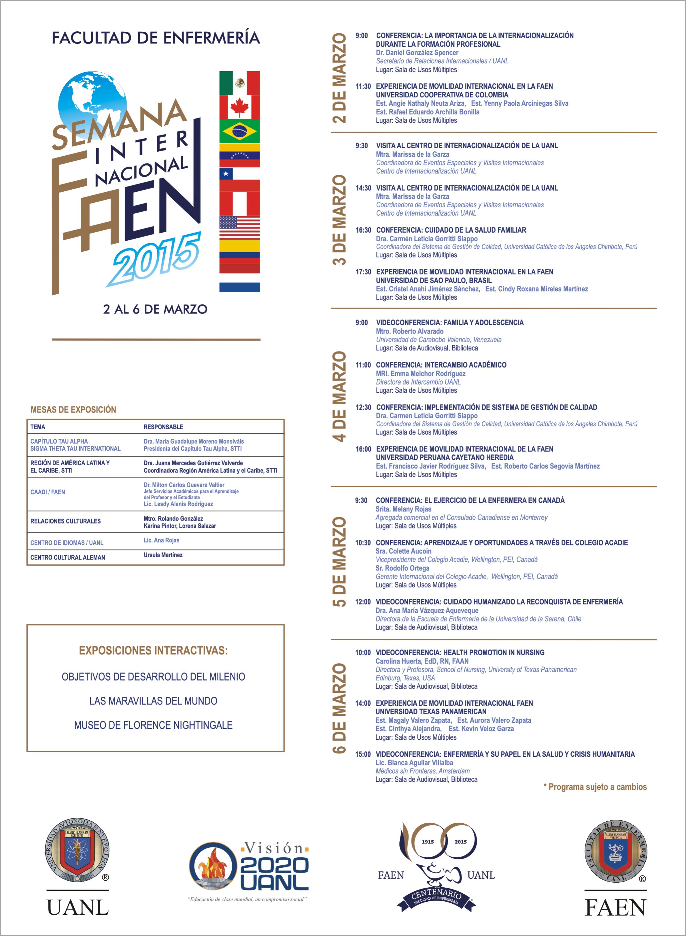programa semana internacional faen PAG WEB