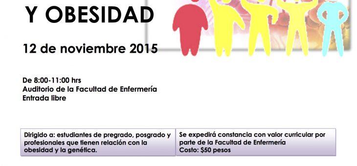 Simposio Actualidades en Genómica y Obesidad.