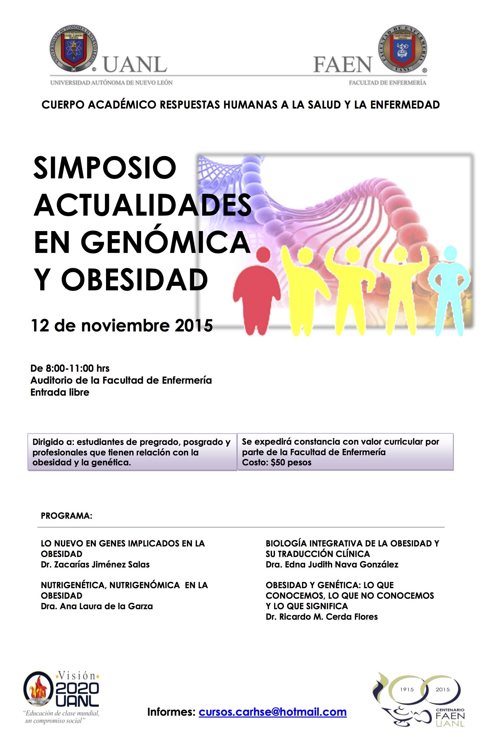 simposio genomica y obesidad