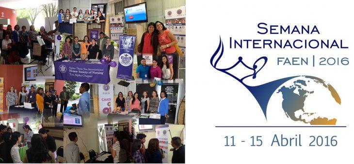 Concluye la Semana Internacional FAEN 2016