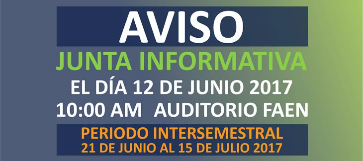Aviso Junta Informativa