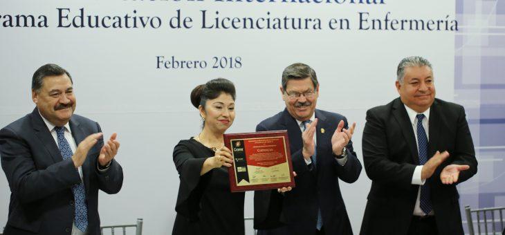 Ratifican aval internacional a Licenciatura en Enfermería de la UANL