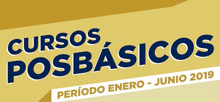 Cursos Posbásicos Enero-Junio 2019