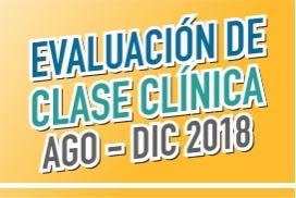 Evaluación de Clase Clínica