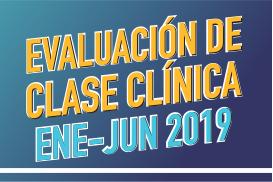 Evaluación de clase clínica enero-junio 2019