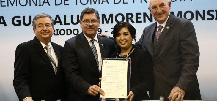 Dra. María Guadalupe Moreno Monsiváis, nueva directora de la Facultad de Enfermería.